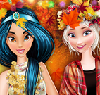 Outono moda princesas