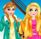Anna e Rapunzel moda