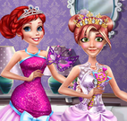 Princesas vestido glamour