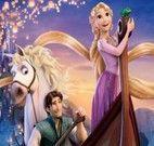 Quebra cabeça Rapunzel e príncipe