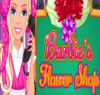Barbie vendedora de flores