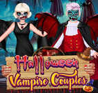 HALLOWEEN VAMPIRE COUPLE