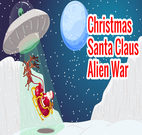 CHRISTMAS SANTA CLAUS ALIEN WAR