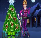 ANNA PREPARING FOR CHRISTMAS
