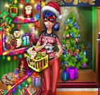 DOTTED GIRL CHRISTMAS SHOPPING