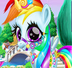 Rainbow Pony Caring