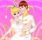 Cinderela roupas do casamento
