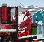Dirigir trem do Papai Noel