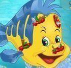 Cuidar do peixe da Ariel