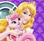 Princesa Aurora cuidar do bichinho