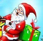 Papai Noel aventuras de trenó