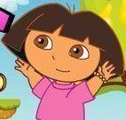 Dora aventuras pegar moedas