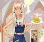 Barbie garçonete