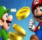 Moedas de ouro do Mario e Luigi