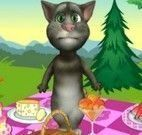 Tom gato virtual piquenique