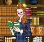Princesa Bella roupas na biblioteca