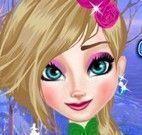 Vestir Elsa no piquenique