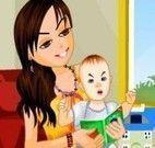 Vestir mamãe e bebê