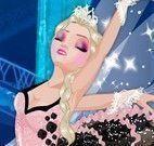 Elsa roupas de bailarina