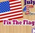 Decorar bandeira dos Estados Unidos