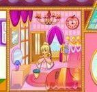 Decoração da casa da princesa