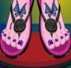 Pedicure das Monster High