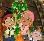 Jake Disney decorar árvore de natal
