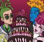 Pintar desenho da turma Monster High