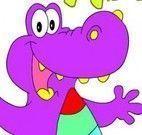 Pintar imagem do dinossauro