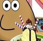 Pou decorar sorvete