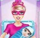 Parto da Super Barbie