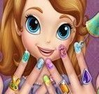 Princesa Sofia spa das mãos