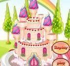 Decorar bolo castelo da princesa