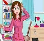 Achar objetos para vestir a menina