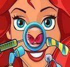 Princesa Ariel cirurgia do nariz