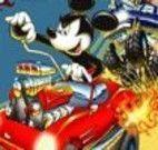 Mickey corrida de carro
