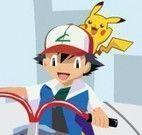 Aventuras do Pokemon na bike