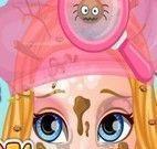 Bebê Barbie tirar piolho