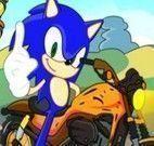 Sonic aventuras radicais da moto