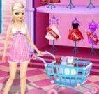 Princesa Elsa no shopping