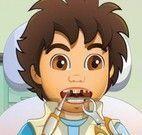 Diego no dentista
