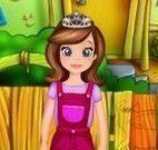 Princesa Sofia jardineira