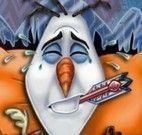 Olaf Frozen no médico