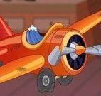 Consertar avião de brinquedo