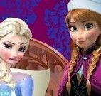Anna enfermeira cuidar da Elsa