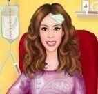 Violetta grávida na ambulância