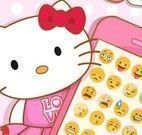 Hello Kitty enfeites do Iphone