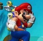 Saltos com Mario