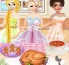 Ceia de natal das princesas