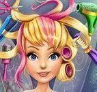 Pixie no cabeleireiro